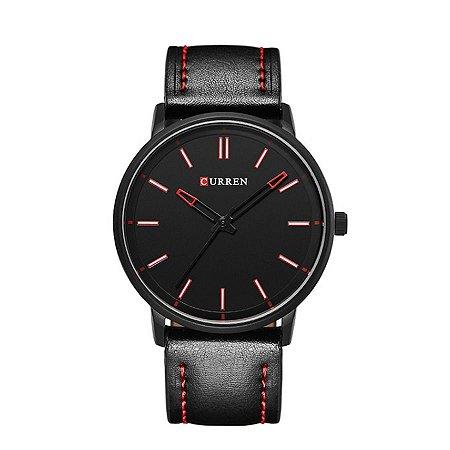 Relógio Masculino Curren Analógico 8233 Preto