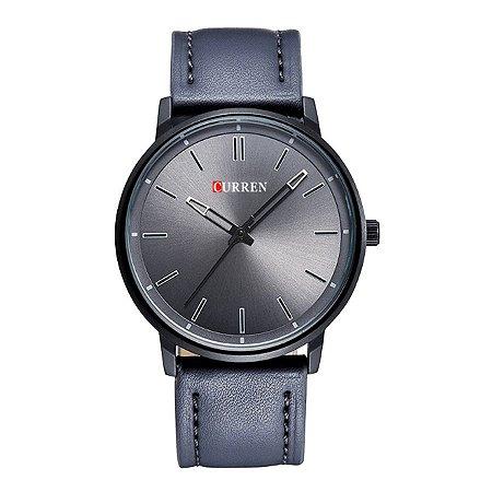 Relógio Masculino Curren Analógico 8233 Preto e Cinza