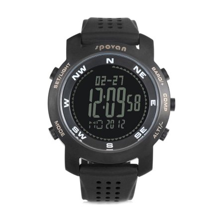 Relógio Masculino Spovan Digital Bravo+ Preto