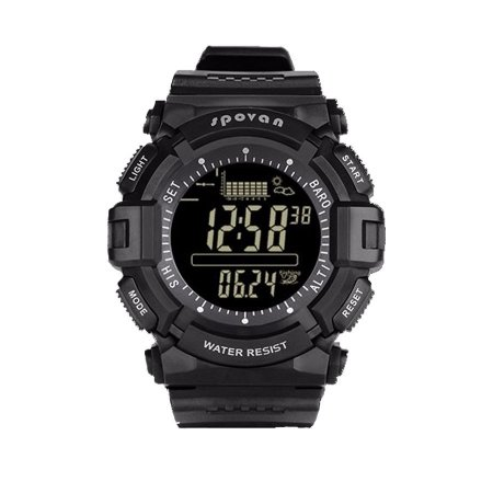 64fb30fd3f3 Relógio Masculino Spovan Digital SPV706 Preto