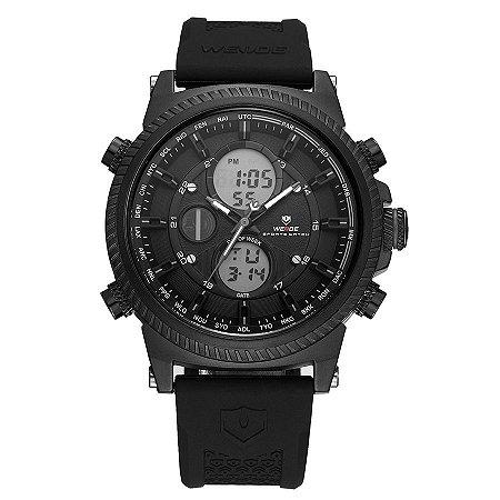 Relógio Masculino Weide Anadigi WH-6403 Preto