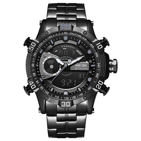 Relógio Masculino Weide Anadigi WH-6902 Preto