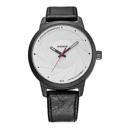 Relógio Masculino Weide Analógico WD005 Preto/Branco
