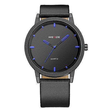 Relógio Masculino Weide Analógico WD001 Preto/Azul