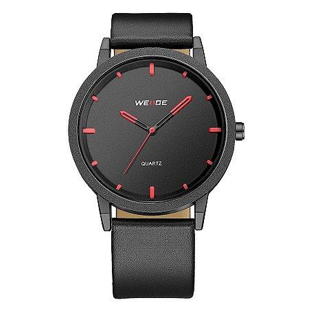 Relógio Masculino Weide Analógico WD001 Preto/Vermelho