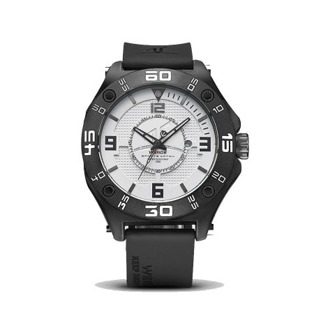 Relógio Masculino Weide Analógico UV-1502 Preto/Branco