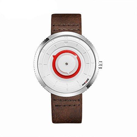 601d4887ba7 Relógio Masculino Weide Analógico WD006 Preto Prata - Amigonauta