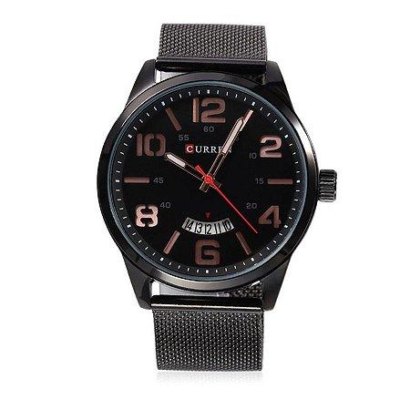 Relógio Masculino Curren Analógico M8236 - Preto