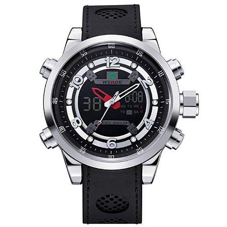 Relógio Masculino Weide Anadigi WH-3315 Preto
