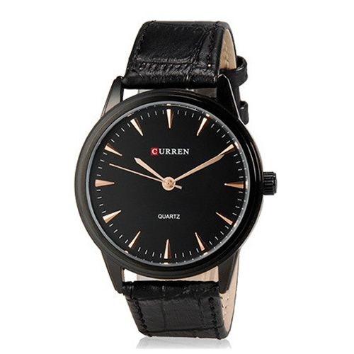 Relógio Masculino Curren Analógico 8119G Preto
