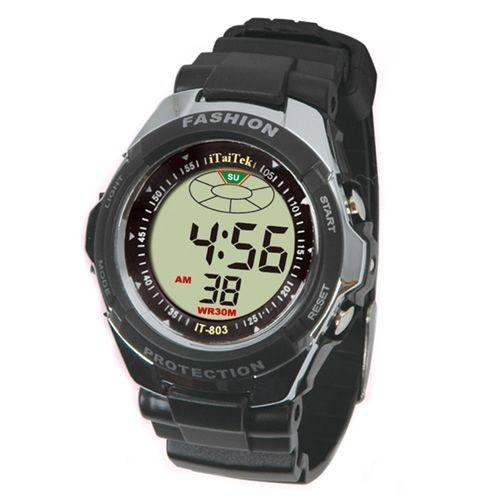 Relógio Masculino Itaitek  Digital IT-803 Preto