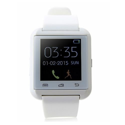 Relógio Masculino Bluetooth Smart U8Branco