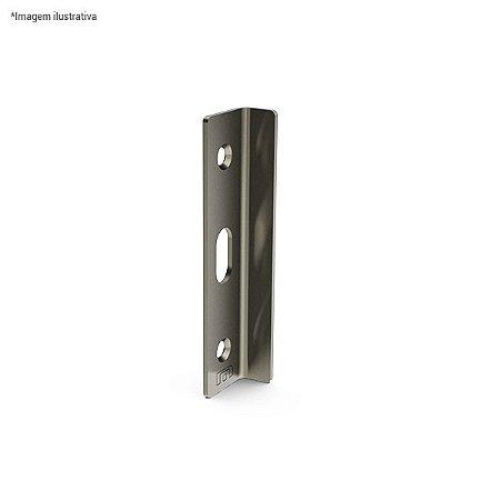 Ferragem 1504A para vidro (batente) - aço inox