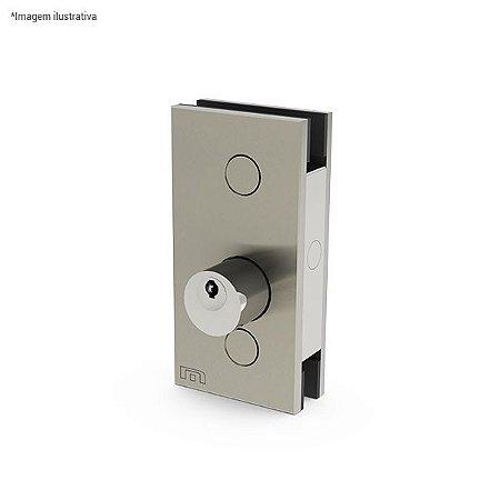 Ferragem 1520 para vidro (fechadura com chave)