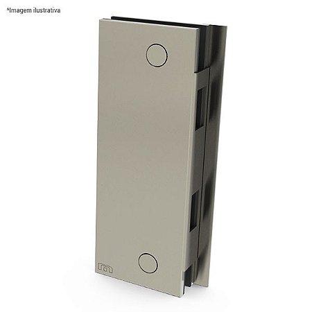 Ferragem 1504TAD para vidro (contra-fechadura direita) - aço inox