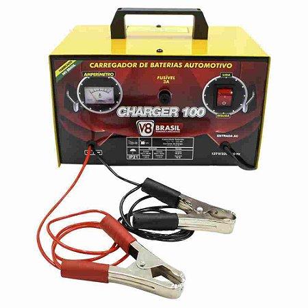 Carregador de bateria 10A 60HZ bivolt