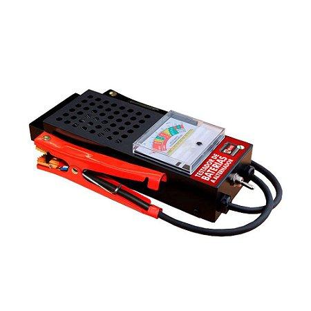 Teste bateria e alterador 12V automotivo TBA200