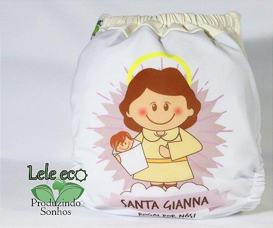 Fralda Santa Gianna - Nacional - Lele Eco - Sublimada - Dryfit