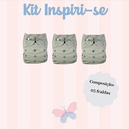 Kit Inspiri-se - Ideal para adicionar algumas fraldas e absorventes ao seu enxoval