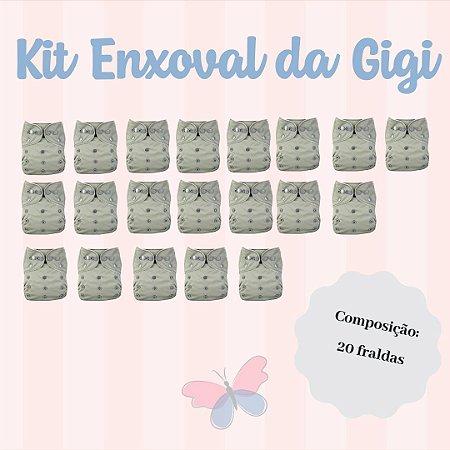 Kit Enxoval da Gigi - Ideal para você que não quer se preocupar mais em comprar fraldas
