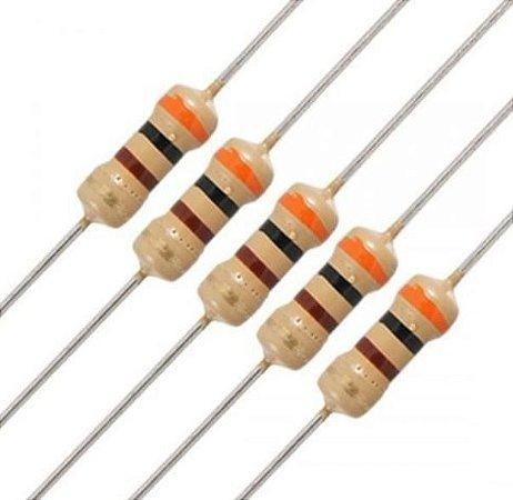 Kit Resistores c/ 50 unidades