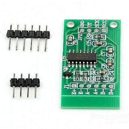 Conversor Amplificador HX711 24bit 2 canais para célula de carga