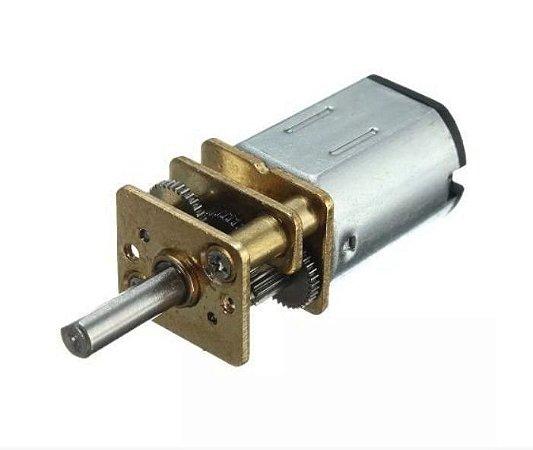 Mini Motor Redutor Dc 6v N20 30:1 500rpm Arduino Pic