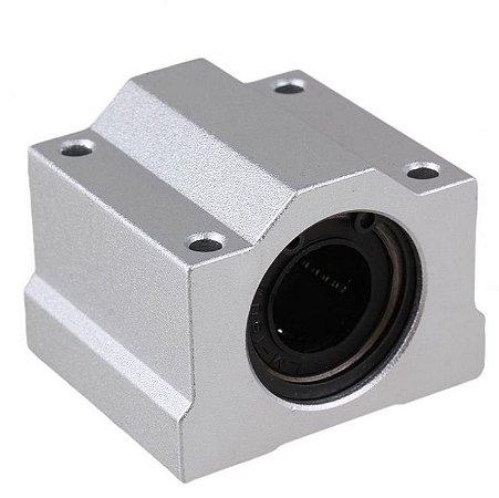 Pillow Block 12mm Com Rolamento Linear Modelo Scs12uu Cnc 3d