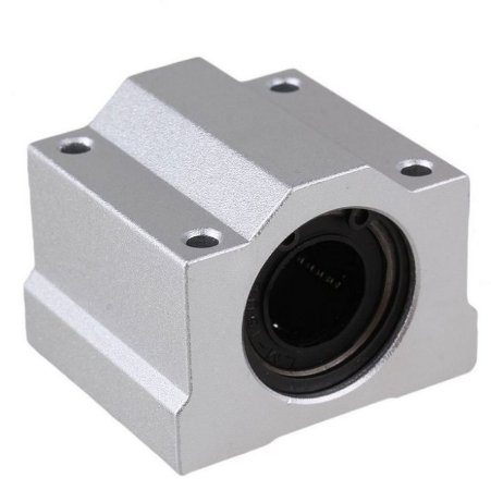 Pillow Block 16mm Com Rolamento Linear Modelo Scs16uu Cnc 3d