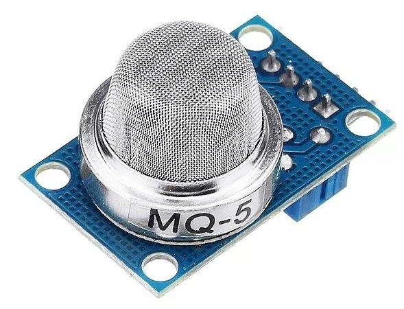 Sensor de Gás MQ-5 para Arduino - GLP (Gás de Cozinha) e Gás Natural