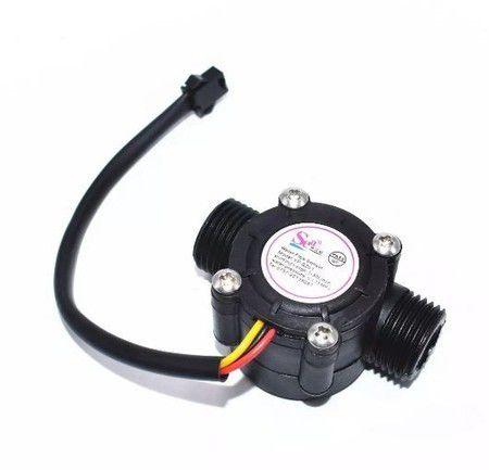 Sensor - Medidor de vazão YF-S201 1-30L/min Fluxo