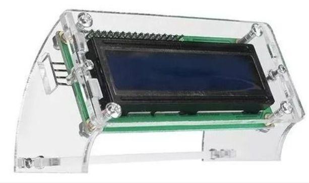Suporte De Acrílico Para Display Lcd 16x2 1602 para Arduino