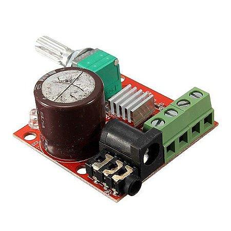 Amplificador De Audio Pam8610 Dual D Class Hi-fi 2x10w 12v