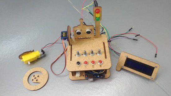 Kit iniciante MDF + Eletrônica