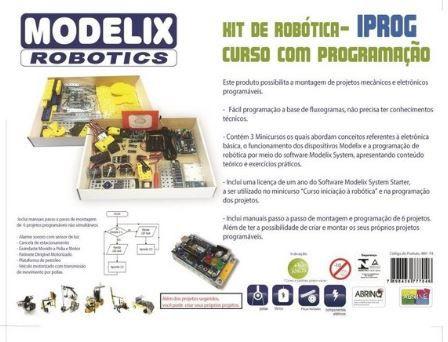 ILOG Compacto Plus - Inclui um Arduino Compacto + software