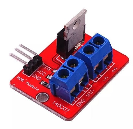 Mosfet IRF520 Módulo Driver Para Arduino
