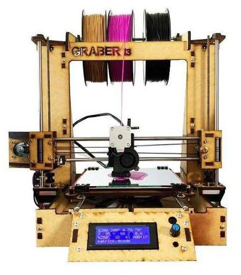 IMPRESSORA 3D GRABER I3 - MONTADA (PRONTA PARA USO) - CARBON 3D