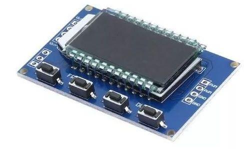 GERADOR DE SINAL PWM COM DISPLAY LCD E FREQUÊNCIA AJUSTÁVEL - 1HZ-150KHZ