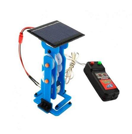 KIT DIY - ROBO COM CONTROLE A CABO - ENERGIA SOLAR