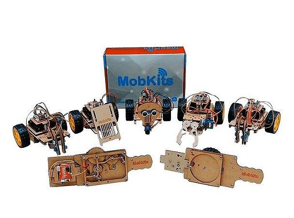 Kit de robótica educacional - MobKits
