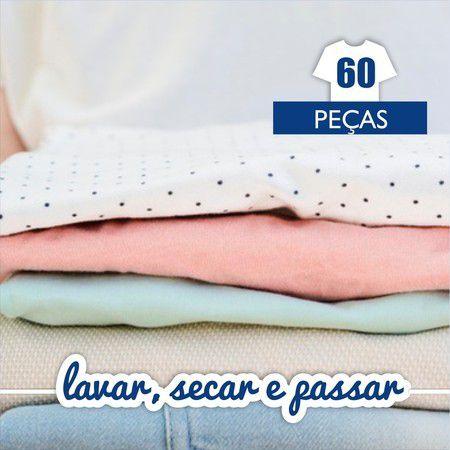Lavar, Secar e Passar - 60 Peças