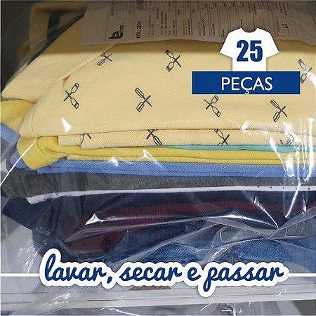 Lavar, Secar e Passar - 25 Peças