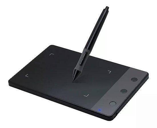 Mesa Digitalizadora Huion H420 Pen Tablet Com 3 Express Keys