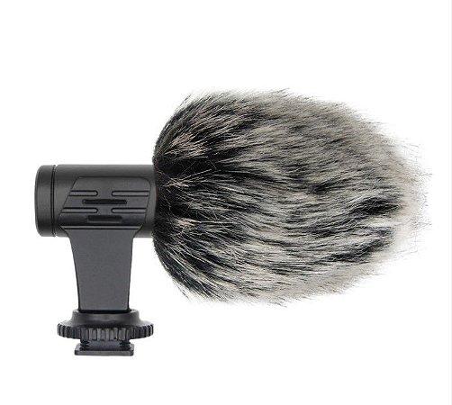 Microfone 3.5 Mm Mamen Para Camera Dslr Nikon Canon P2