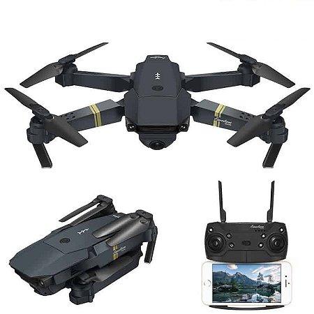 Drone Zangão Eachine E58 Câmera 1080P Wifi + Bolsa + Bateria