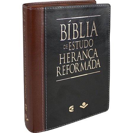 Bíblia De Estudo Herança Reformada Marrom - Joel Beeke