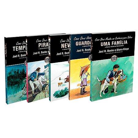 Livros Série Edificando Sobre A Rocha: Historias Devocionais Infantil - Joel R. Beeke e Diana Kleyn