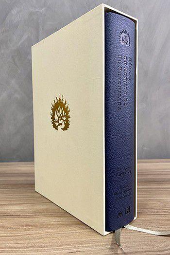 A Bíblia de Estudo da Fé Reformada - Capa Luxo Azul Marinho e Estojo - R.C. Sproul