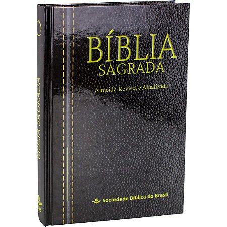 Bíblia Sagrada - Almeida Revista E Atualizada Capa Dura (RA)