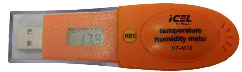 TERMO HIGRÔMETRO DATALOGGER ICEL MANAUS HT-4010 COMPACTO